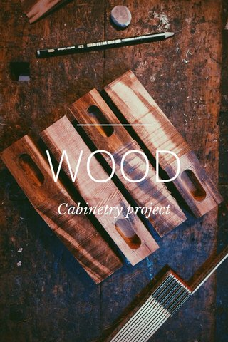 WOOD Cabinetry project