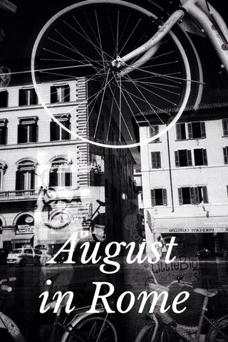 August in Rome