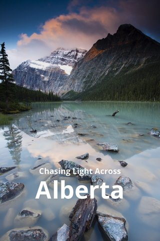 Alberta Chasing Light Across