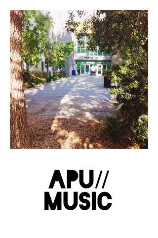 APU// MUSIC