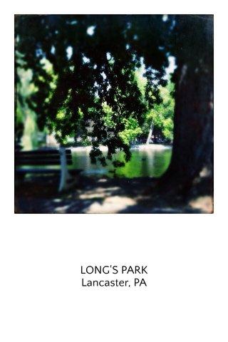 LONG'S PARK Lancaster, PA