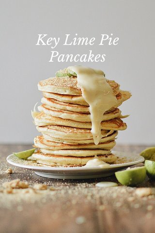 Key Lime Pie Pancakes