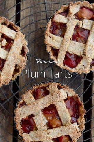 Plum Tarts Wholemeal