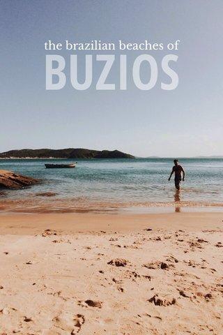 BUZIOS the brazilian beaches of