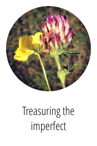 Treasuring the imperfect