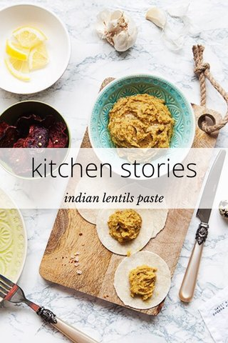 kitchen stories indian lentils paste