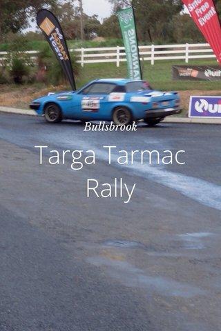 Targa Tarmac Rally Bullsbrook