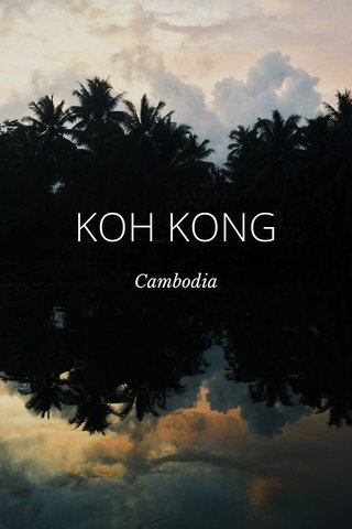 KOH KONG Cambodia