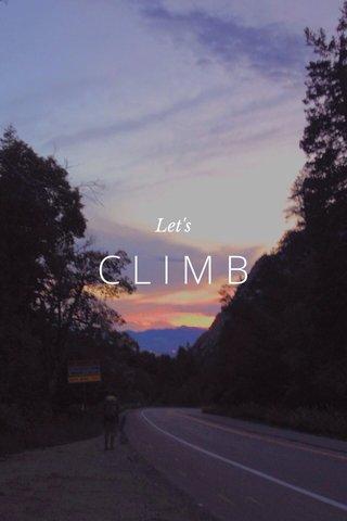 CLIMB Let's