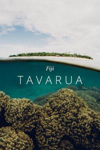 TAVARUA Fiji