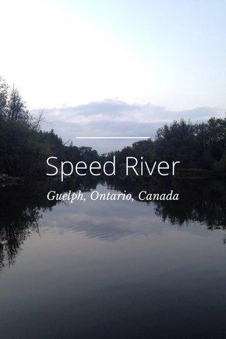 Speed River Guelph, Ontario, Canada