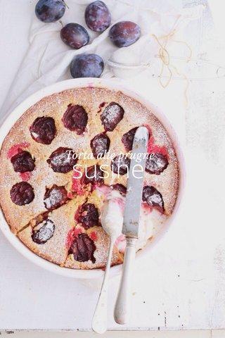 susine Torta alle prugne