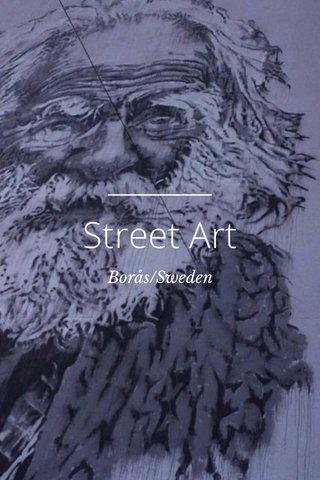 Street Art Borås/Sweden