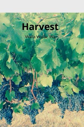 Harvest Walla Walla, Wa
