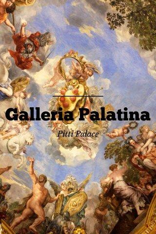 Galleria Palatina Pitti Palace