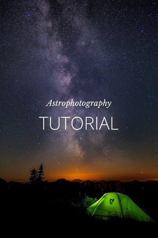 TUTORIAL Astrophotography
