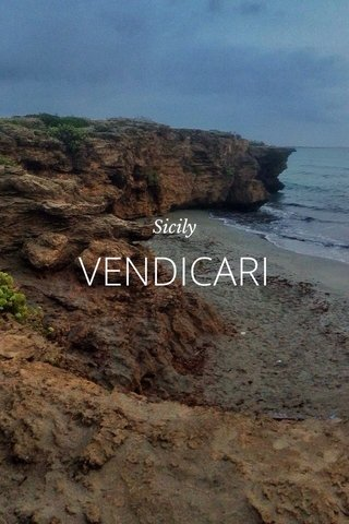 VENDICARI Sicily