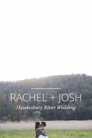 RACHEL + JOSH Hawkesbury River Wedding