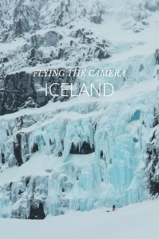 ICELAND FLYING THE CAMERA