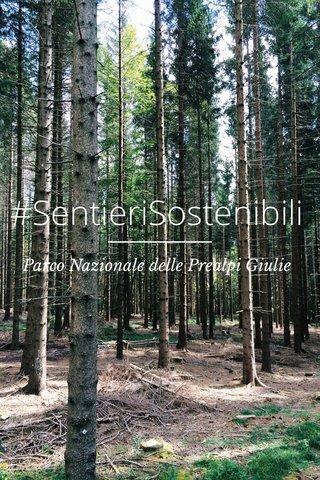 #SentieriSostenibili Parco Nazionale delle Prealpi Giulie