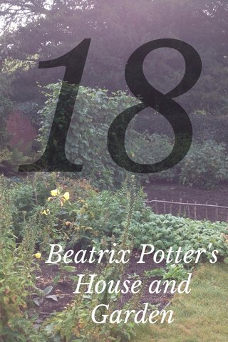 18 Beatrix Potter's House and Garden