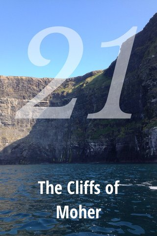 21 The Cliffs of Moher