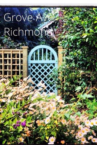 Grove Ave Richmond