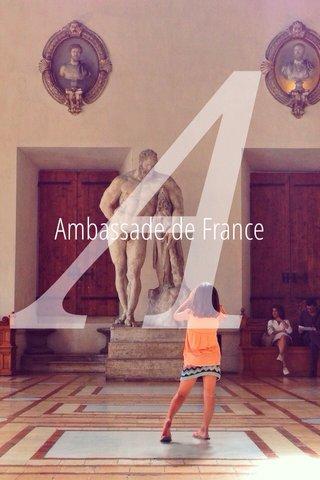 A Ambassade de France