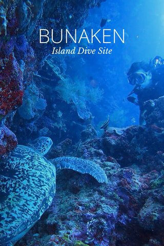 BUNAKEN Island Dive Site