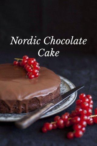 Nordic Chocolate Cake