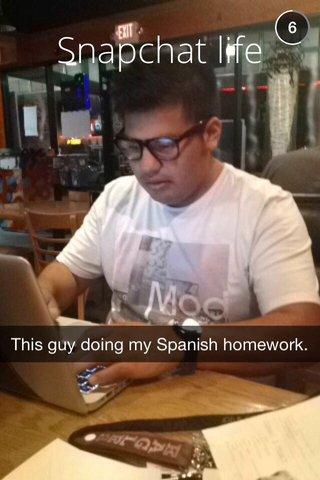 Snapchat life