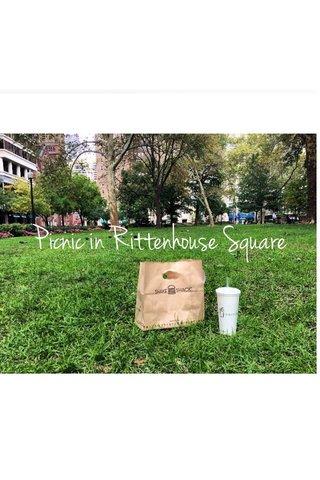 Picnic in Rittenhouse Square