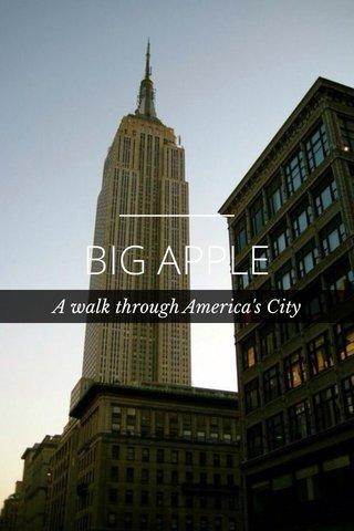 BIG APPLE A walk through America's City