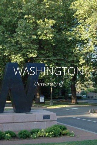 WASHINGTON University of