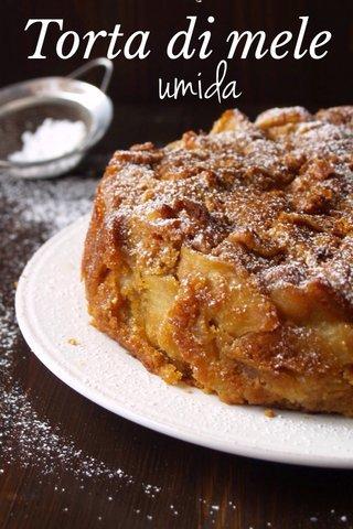 umida Torta di mele