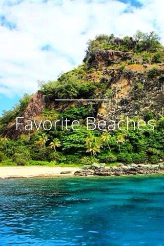 Favorite Beaches