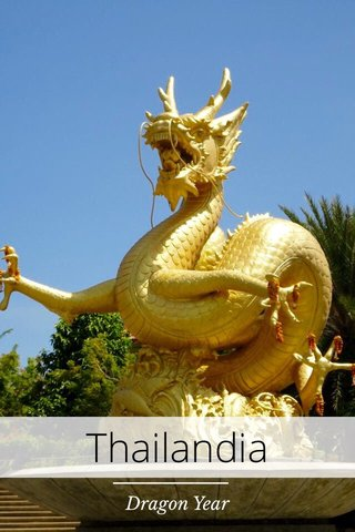 Thailandia Dragon Year