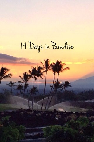 14 Days in Paradise