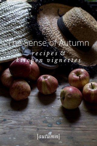 The Sense of Autumn |autumn| r e c i p e s & k i t c h e n v i g n e t t e s