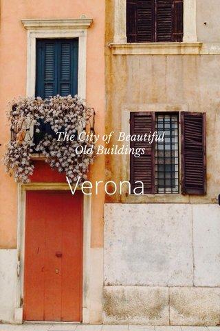 Verona The City of Beautiful Old Buildings