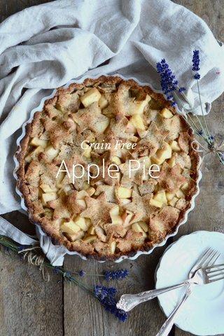 Apple Pie Grain Free