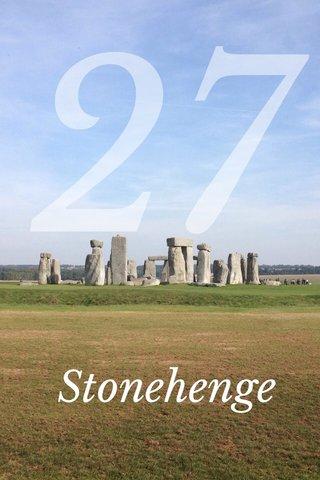 27 Stonehenge