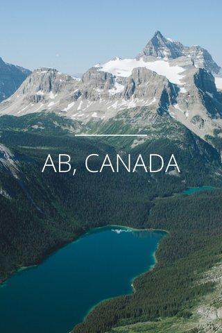 AB, CANADA
