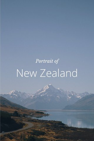 New Zealand Portrait of