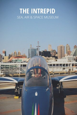 THE INTREPID SEA, AIR & SPACE MUSEUM