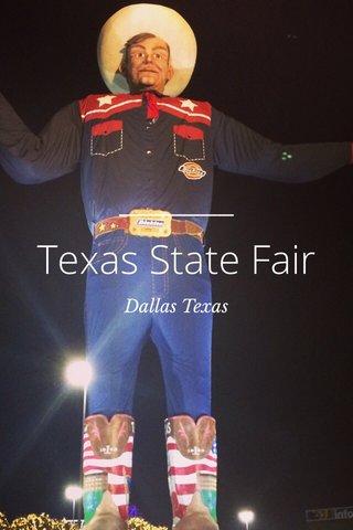 Texas State Fair Dallas Texas