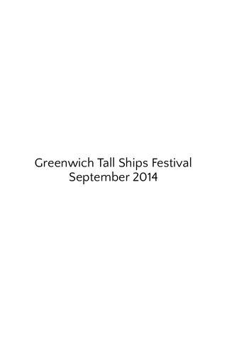 Greenwich Tall Ships Festival September 2014