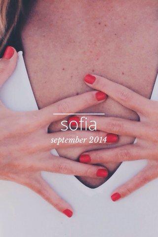 sofia september 2014
