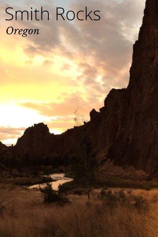 Smith Rocks Oregon