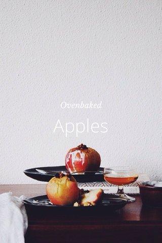Apples Ovenbaked